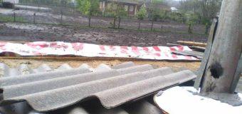Mai multe localități din nordul țării au fost afectate în urma ploilor
