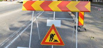 Traficul rutier pe o porțiune a străzii 31 August 1989 este suspendat