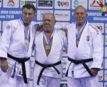 Trei judocani moldoveni – campioni europeni printre veterani