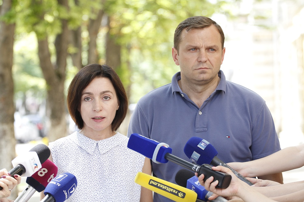 Maia Sandu și Andrei Năstase au comunicat despre crearea Comitetului de rezistență națională
