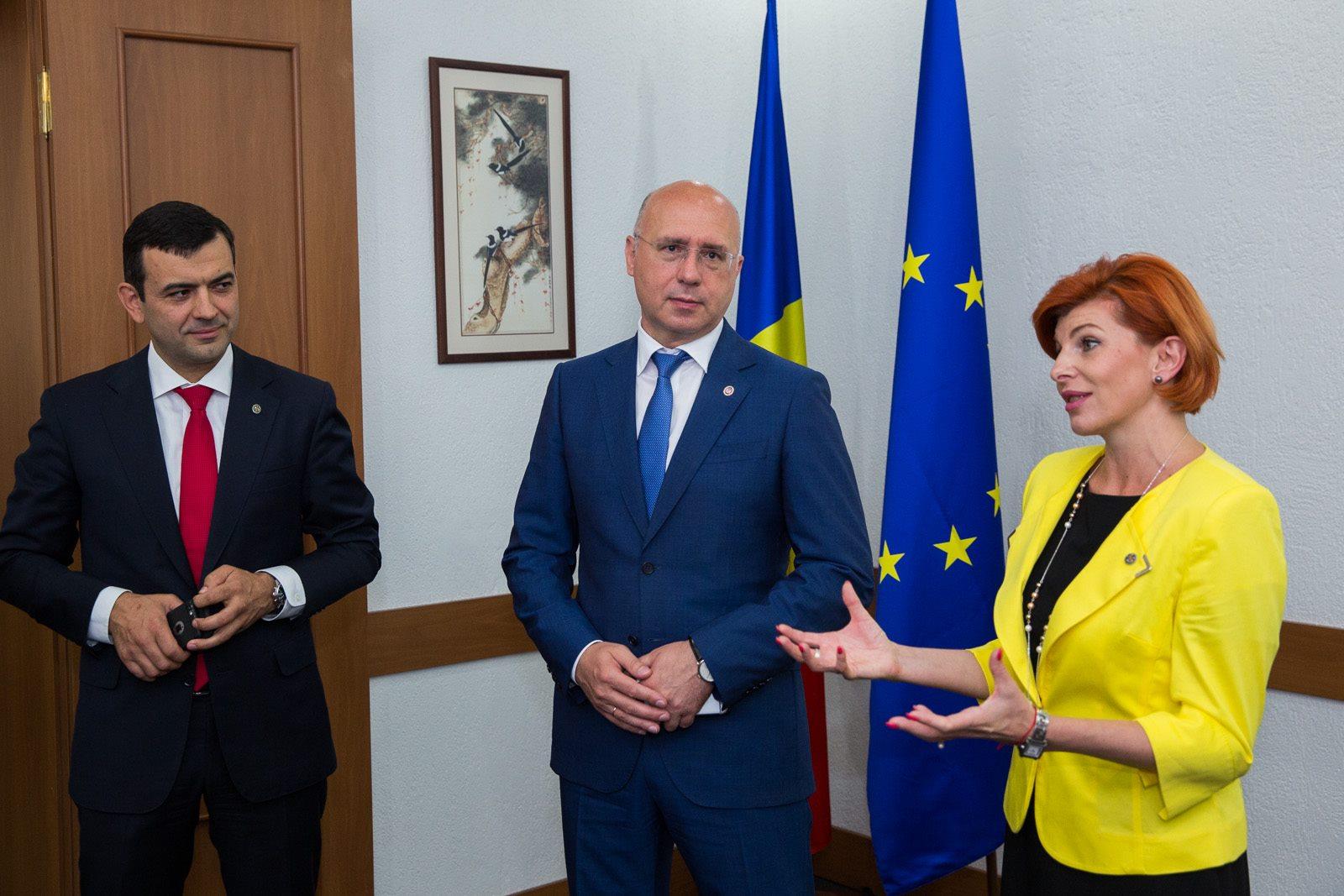 Rodica Verbeniuc – prezentată angajaților Agenției de Investiții (FOTO)