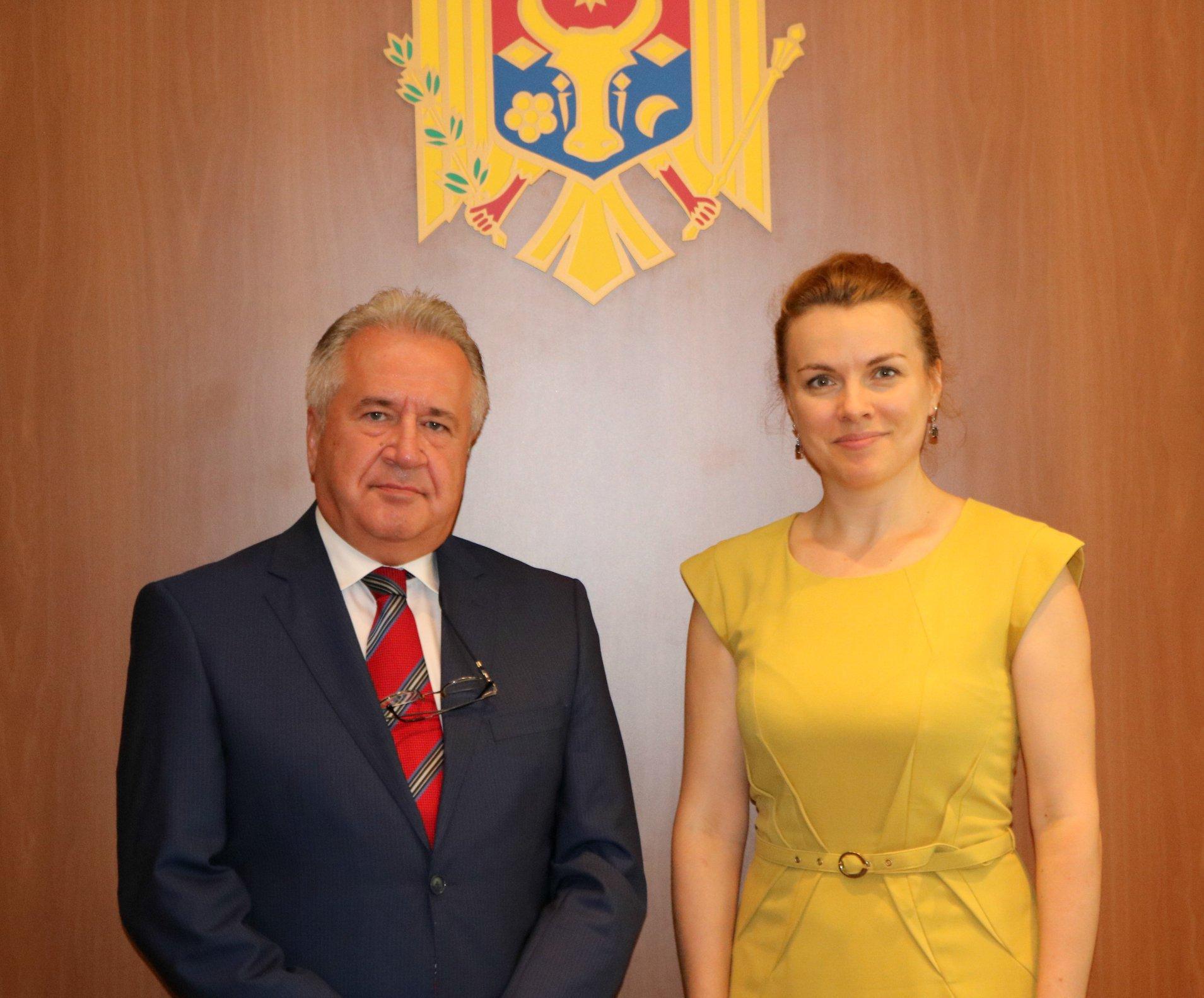 Ambasadorul agreat al Republicii Turcia în Republica Moldova a prezentat scrisorile de acreditare la Chișinău