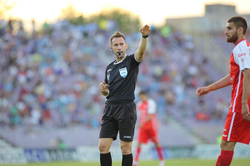Ce salariu câștigă un arbitru de fotbal din R. Moldova