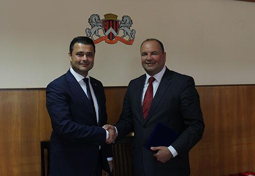 Acord de înfrățire dintre sectorul 5 București și municipiul Ungheni