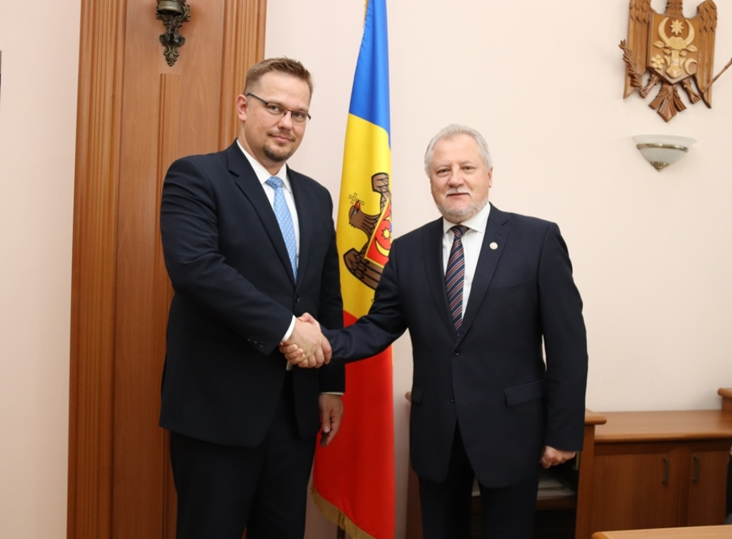 Ambasadorul Poloniei în R. Moldova, la CCRM