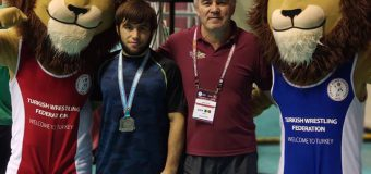 Locul 2 pentru un luptător moldovean, la turneul din Turcia