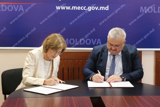Încă un liceu din R. Moldova a aderat la sistemul de școli care promovează studierea aprofundată a limbii germane