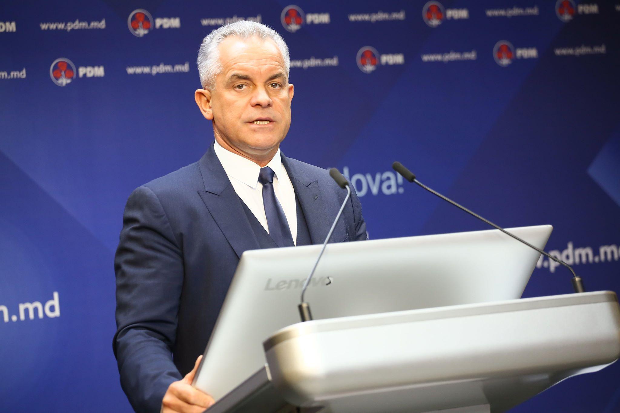 Vlad Plahotniuc: Preocuparea principală a democraților este să facă coaliții cu cetățenii și să continue faptele bune