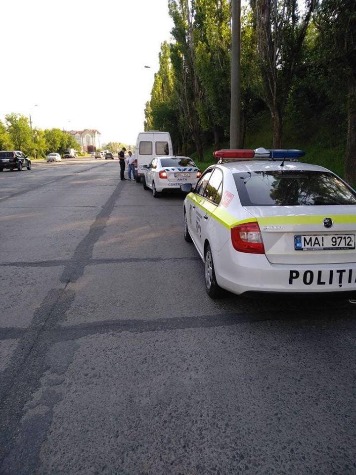 Atenție! Pe traseul Chișinău-Orhei-Bălți, ofițerii de patrulare vor verifica automobilele din trafic