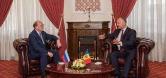 (FOTO) Noul Ambasador al Federației Ruse a prezentat scrisorile de acreditare Președintelui RM