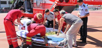 Un echipaj aero-medical SMURD din Galați, din nou în Republica Moldova
