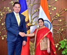 Deschiderea unei misiuni diplomatice a RM în India – discutată de miniștrii de externe ai celor două țări