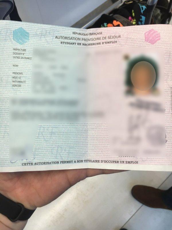 Document falsificat, descoperit la o cetățeană a Camerunului