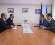 Ofițerul Securității Regionale al Ambasadei SUA la Chișinău a dat asigurări de implicare personală în sprijinul instituției de frontieră