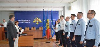 Zi cu emoții pentru cinci noi angajați ai Serviciului Vamal (foto)