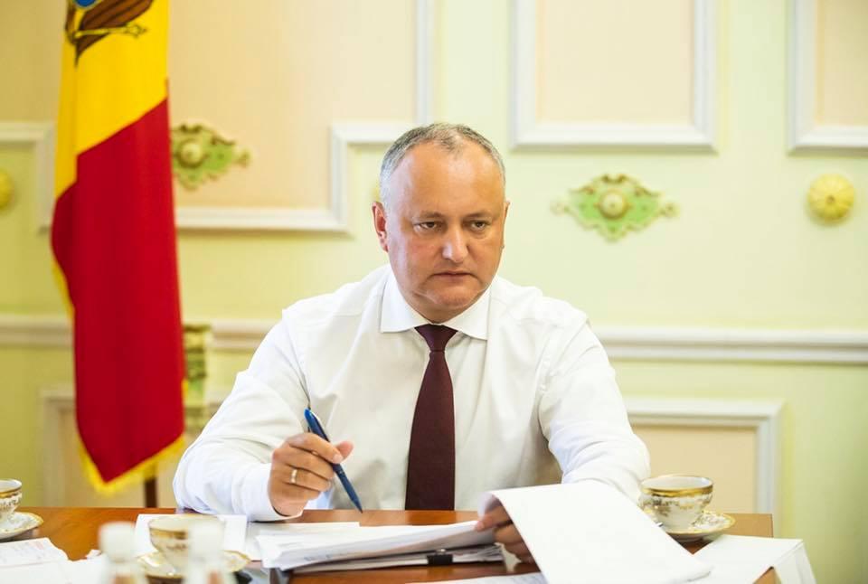 Președintele Dodon: E nevoie de o repornire a relațiilor economice moldo-ruse