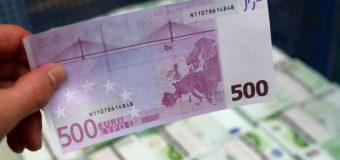 Banca Națională a Moldovei, despre bancnotele de 500 de euro