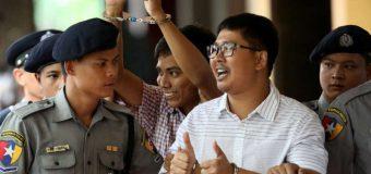 UE cere eliberarea imediată a doi jurnalişti Reuters condamnaţi la închisoare