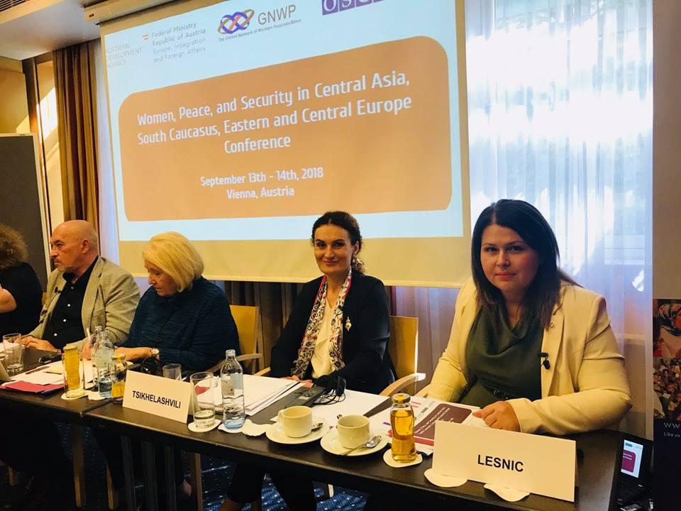 Vicepremierul Lesnic, la Conferința regională privind femeile, pacea și securitatea în Austria
