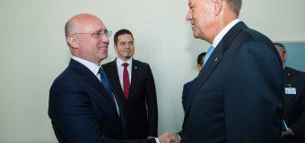 Premierul RM, la discuții cu Președintele României