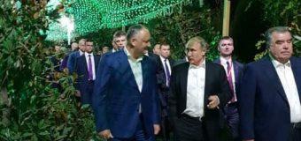 Igor Dodon – la întrunire cu șefii statelor CSI (FOTO)