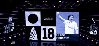 Luka Modric, jucătorul anului la The Best FIFA Awards. Toate premiile acordate la Londra!