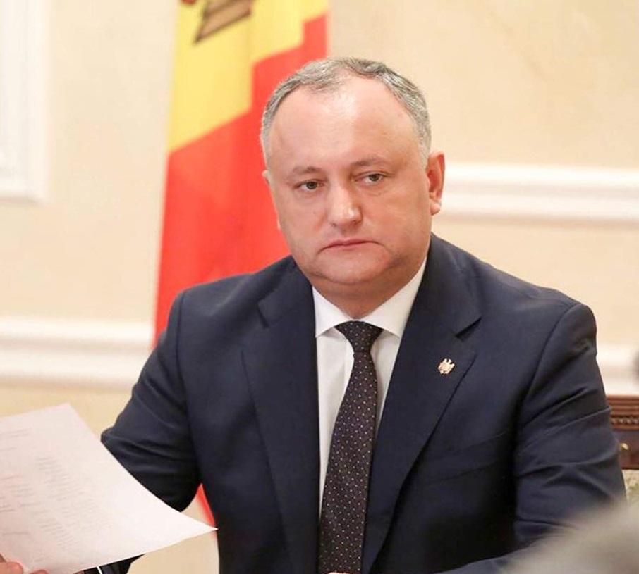 Dodon: Singura modalitate de depășire a crizei politice rămâne alegerea conducerii Parlamentului