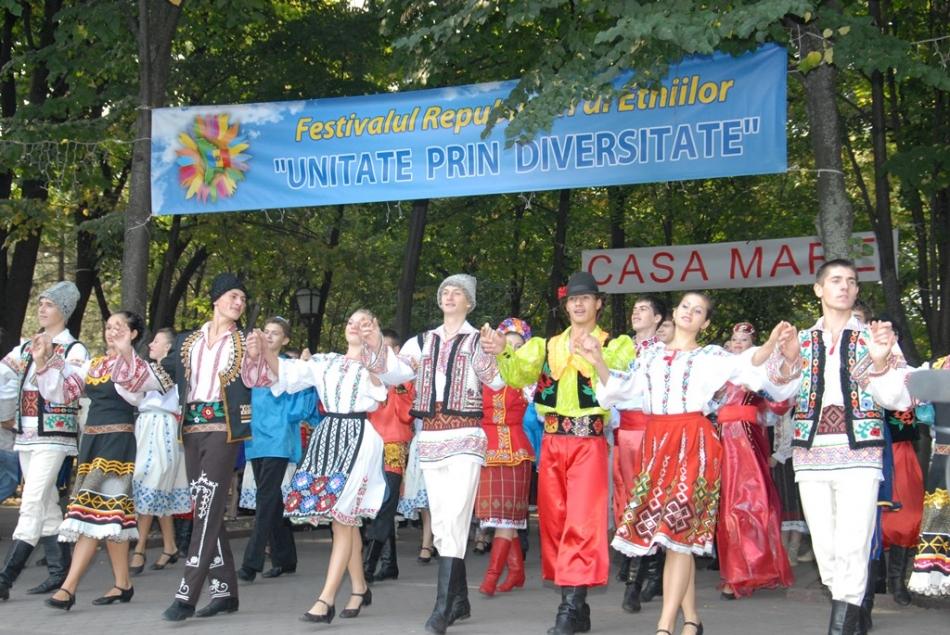 La Chișinău, astăzi, va fi organizat Festivalului Etniilor