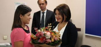 Diploma Guvernului de gradul I pentru luptătoarea Anastasia Nichita