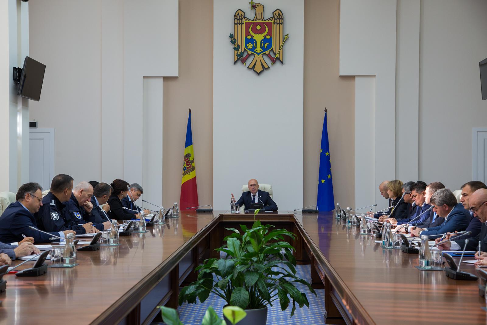 Pavel Filip a cerut ca într-o săptămână să fie prezentat un plan de acțiuni privind explozia din sectorul Râșcani