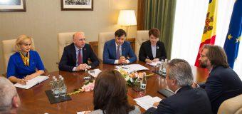 Pavel Filip a încurajat BERD să susțină în continuare agenda de reforme a Guvernului
