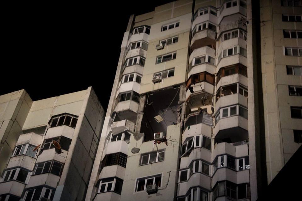 Explozie de proporții în sectorul Râșcani din Chișinău (FOTO)