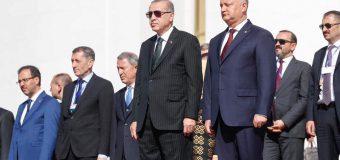 Președintele Turciei i-a lansat o invitației Președintelui R.Moldova, la finalul vizitei