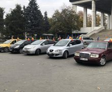 Unioniștii – cu un marș automobilistic prin toate sectoarele Chișinăului