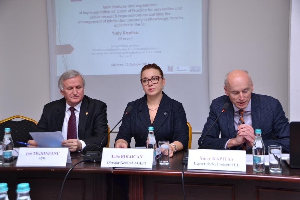 Seminar internațional cu privire la valorificarea rezultatelor cercetării ştiinţifice