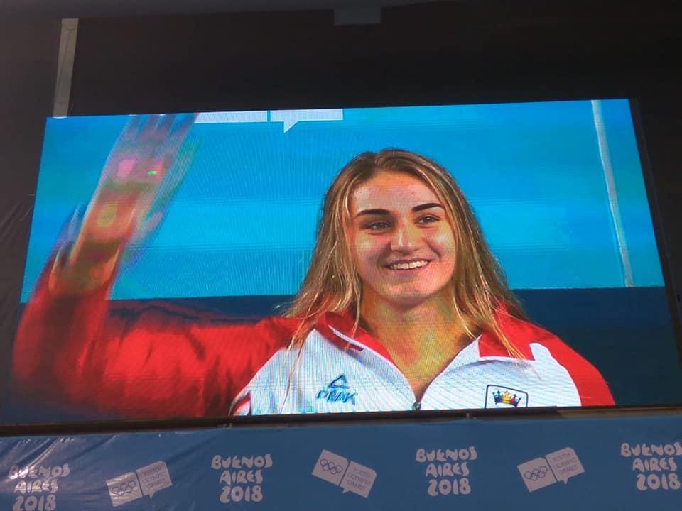 Înotătoarea Tatiana Salcuțan a cucerit aurul la Jocurile Olimpice