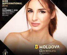"Reprezintă Moldova la ""Miss Supranational 2018""! Nicoleta Caun: ""Plec cu o pregătire enormă"""