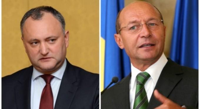 Zi importantă pentru Traian Băsescu și Igor Dodon