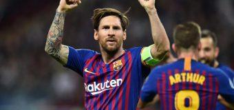 Lionel Messi a fost declarat jucătorul săptămânii în UEFA Champions League