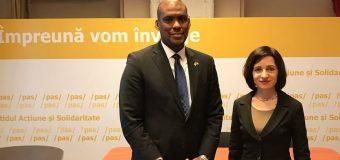 Noul Ambasador al SUA – la discuții cu Maia Sandu