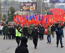 Socialiștii au pornit într-un marș, la Chișinău (VIDEO)