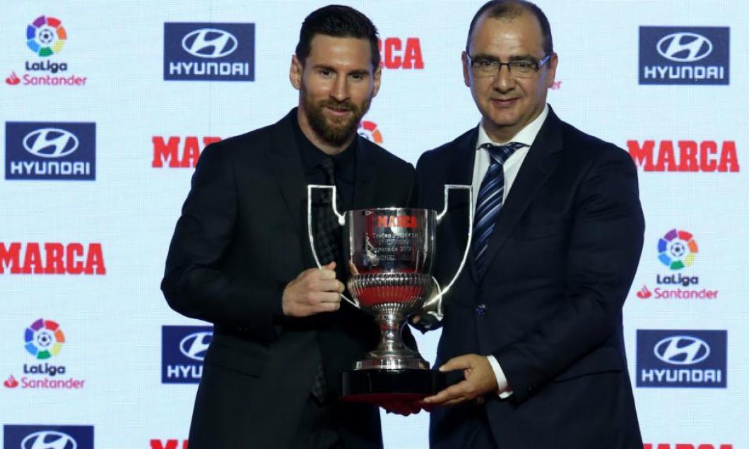 Messi, două trofee câştigate în cadrul unei singure gale. A egalat recordul unor nume legendare!