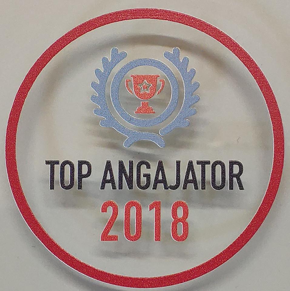 """Compania """"Ritlabs"""" – în top 5 cei mai buni angajatori ai anului 2018, la categoria companii mici"""