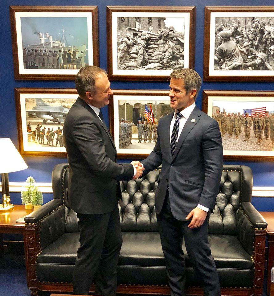 Președintele Parlamentului a invitat membrii Senatului și ai Camerei Reprezentanților SUA să monitorizeze alegerile parlamentare din RM