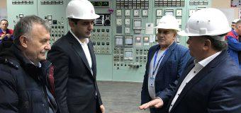 """Chiril Gaburici – în vizită la Termoelectrica. """"Este important să evităm situațiile imprevizibile"""""""
