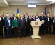 """PSRM nu participă la ultima ședință a Parlamentului: """"Domnul Filip nu are pentru ce veni cu raport"""""""