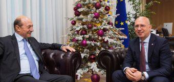 Pavel Filip a avut o discuție cu Traian Băsescu