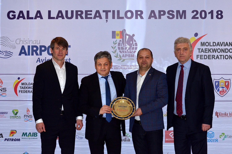 Cei mai buni sportivi ai anului 2018 – premiați, la Chișinău