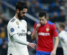 Umilință istorică pentru Real Madrid. Situație fără precedent pe teren propriu în partida cu CSKA Moscova