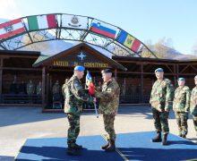 Militarii din cel de-al 10-lea contingent al Armatei Naţionale şi-au început misiunea în Kosovo